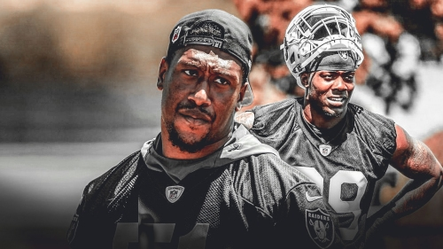 Raiders' Bruce Irvin sees 'a lot' of himself in Arden Key