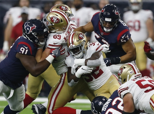 49ers backups battered, could be headed to injured reserve