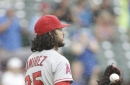 Angels lose series to the Rangers so you can blame it on the rain - or Noe Ramirez