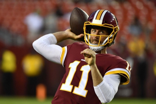 Football Outsiders: Key To Alex Smith's Success In Washington Will Center On Curl Routes