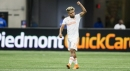 TYING ONE ON: Martinez equals MLS season scoring mark
