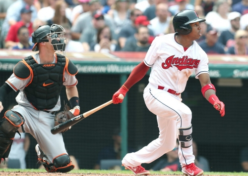 Streaking Greg Allen is giving Cleveland Indians exactly what they need