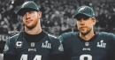 Eagles QB Carson Wentz sharing first-team reps with Nick Foles