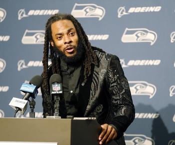 49ers Richard Sherman says 'idiotic' helmet rule should be annulled