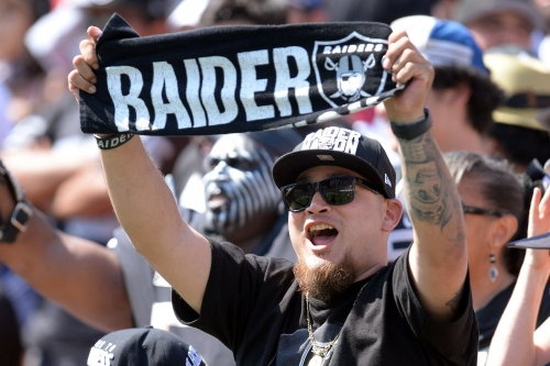 Just Link Baby! Ugly brawl breaks out in stands at Raiders, Rams preseason game