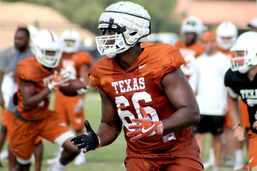 Starters coming into focus for Texas following second scrimmage