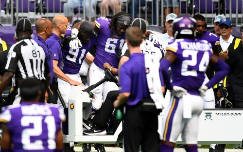Ex-Vikings star Keith Millard: Ade Aruna's torn ACL gives him 'redshirt' year