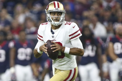 Taking a look at all of Jimmy Garoppolo's snaps vs. the Texans