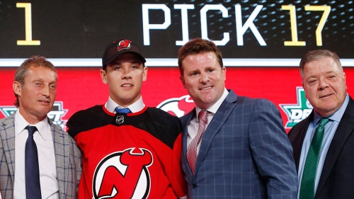 Devils ink first-round pick Ty Smith to three-year deal