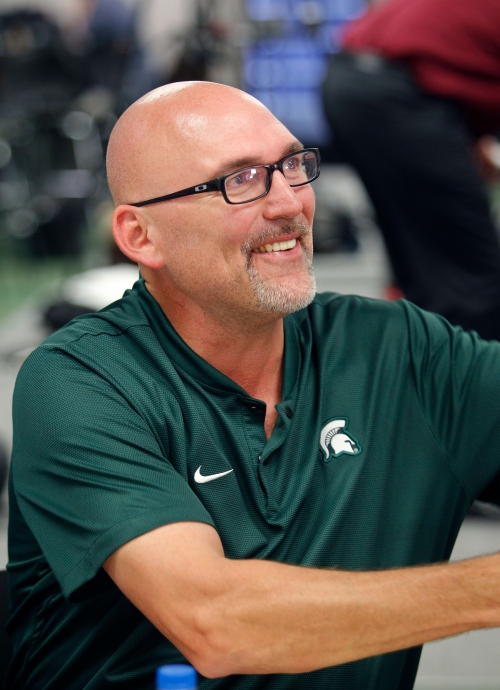 Michigan State defense wants more fumbles via 'ball disruption'