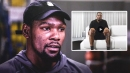 Kevin Durant explains importance of expression, storytelling while hyping new signature shoe