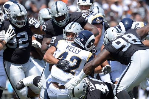 Raiders Ballers vs Rams