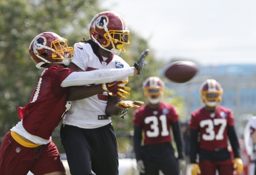 UVa's Blanding making the most of his opportunity at Redskins camp