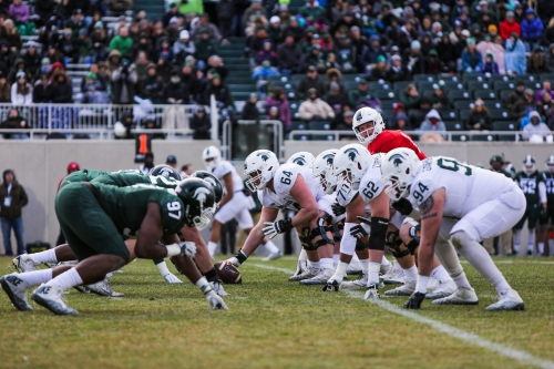 Michigan State football defense wins 2nd scrimmage; offense improves