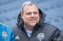 GM Garth Lagerwey provides insight during Season Ticket Member Celebration