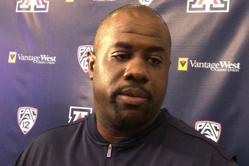 VIDEO: Arizona DC Marcel Yates on freshman standouts, BYU, Khalil Tate, Scottie Young Jr. and more