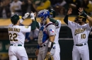 56-71 - Rangers do their part to shake up AL West race, lose 9-0