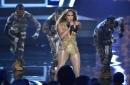 The Latest: Post Malone, Aerosmith merge to close VMAs
