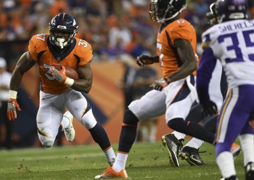 Broncos Mailbag: Royce Freeman or Devontae Booker — who's Denver's starting running back?