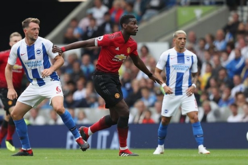 Manchester United player Paul Pogba defended for poor performances