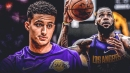 Kyle Kuzma thinks being under L.A. spotlight prepared him for playing with LeBron James