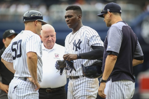 Yankees place Didi Gregorius on disabled list, recall Luke Voit from Triple-A