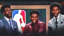 Aaron Holiday shows some brotherly love to Jrue, Justin on annual rookie survey