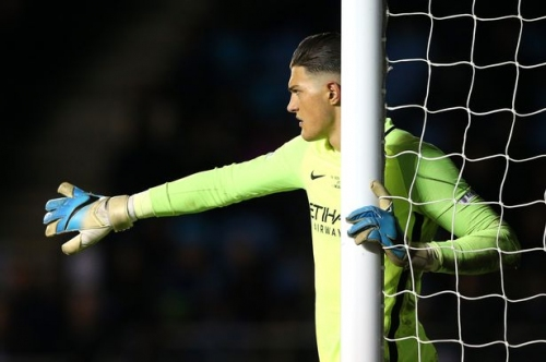 Man City unlikely to recall goalkeeper Aro Muric to provide Claudio Bravo cover
