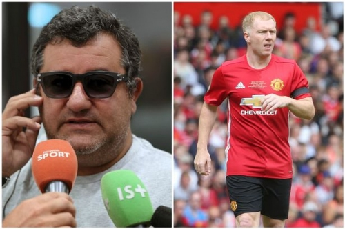 Mino Raiola's tweet to Manchester United legend Paul Scholes was absurd for two reasons