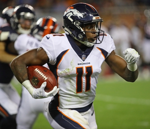 Carlos Henderson, absent from training camp, meets with Broncos officials