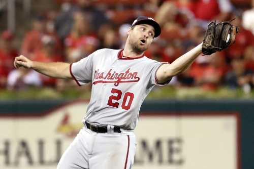 In first signs of sell-off, Nationals trade Daniel Murphy to Cubs, Matt Adams to Cardinals