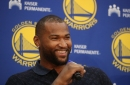 Watch: DeMarcus Cousins shows 'progress' in his Achilles recovery