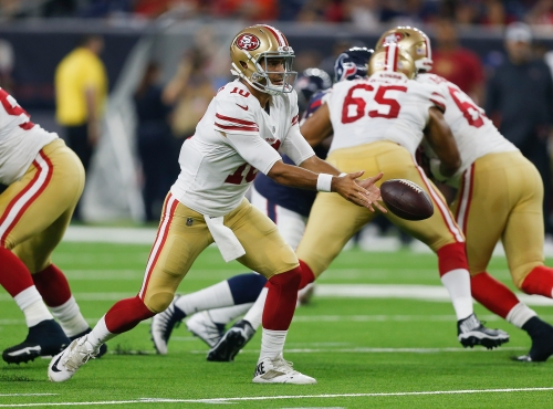 49ers Jimmy Garoppolo looks ahead to third exhibition at Colts