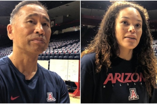 VIDEO: Dave Rubio, Kendra Dahlke on Arizona volleyball's season opener, being an 'elite team' and more