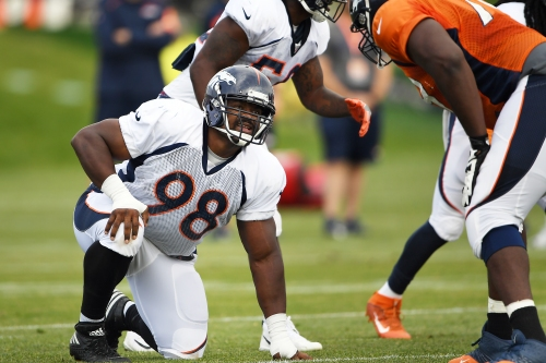Once again healthy, Clinton McDonald bolstering Broncos' defensive line depth