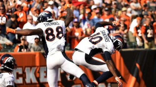 Broncos WRs Demaryius Thomas, Emmanuel Sanders trying to become 'one of the best duos that's ever done it'