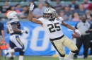 Saints cornerback Marcus Williams boosts roster case with pick-6