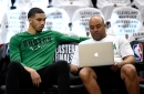 Jayson Tatum doesn't approve of Charlie McAvoy's NHL 19 player rating