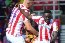 Power, pace and a decent pass - Peter Etebo was simply brilliant for Stoke City