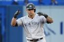 Gary Sanchez 2-for-3 so far in Yankees' Triple A rehab start