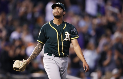 How long A's Sean Manaea could be out after meeting with specialist