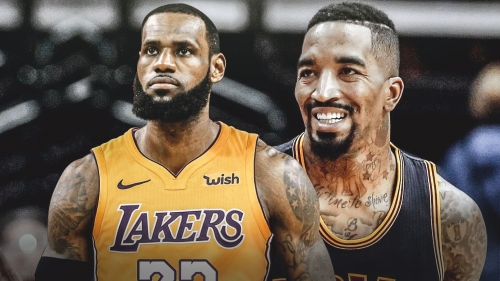 J.R. Smith's comment on LeBron James' post has people calling him Delonte West