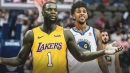 Lance Stephenson already in L.A. mood with Nick Young antics
