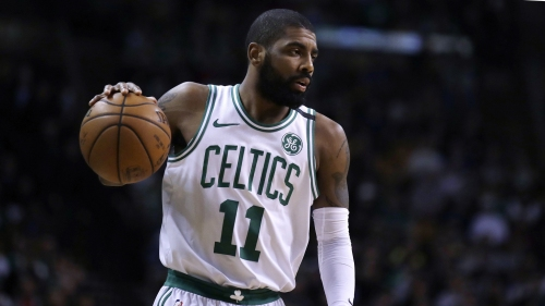 Boston Celtics' Kyrie Irving played more basketball than was allowed on 'Uncle Drew' set