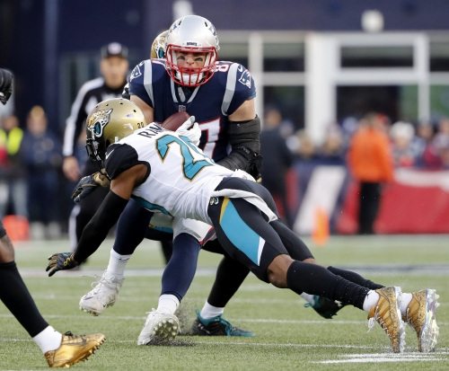 Jalen Ramsey calls out Rob Gronkowski, Danny Amendola: 'I don't think Gronk is as great as people think he is'