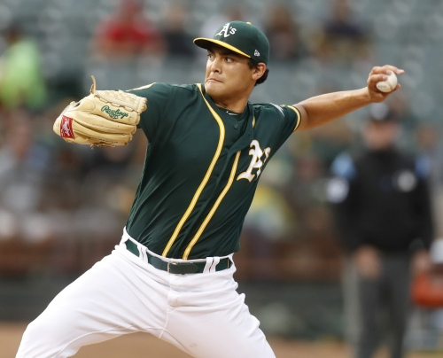Prognosis not encouraging for two injured A's starting pitchers