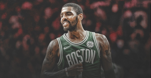 Kyrie Irving felt an 'energy shift' after trade to Boston went through
