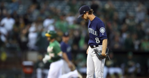 Mariners rally falls short in loss to Athletics
