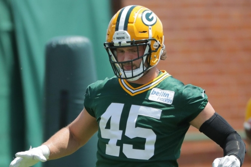 Packers cut OLB Vince Biegel after one year with team, per report