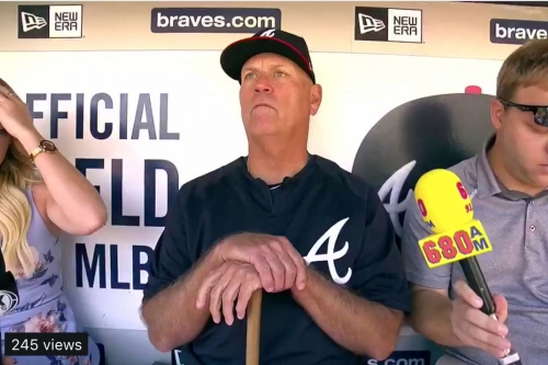 Brian Snitker discusses Braves' roster additions